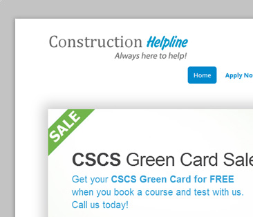 Construction Helpline Product